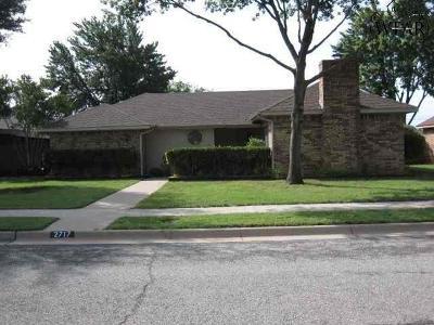 Wichita County Rental For Rent: 2717 Shepherds Glen