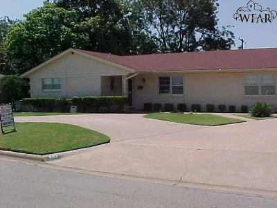 Wichita County Rental For Rent: 803 Tejas Drive
