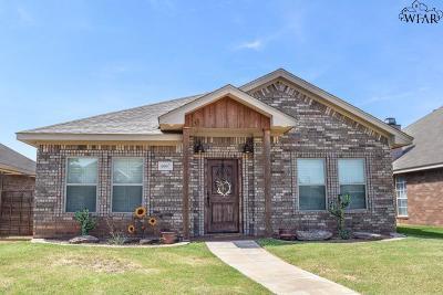 Wichita Falls Single Family Home For Sale: 6007 Oakmont Drive