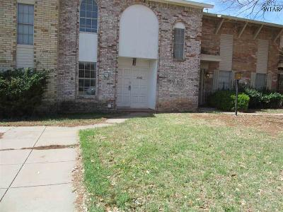 Wichita Falls Single Family Home For Sale: 4588 Mistletoe Drive