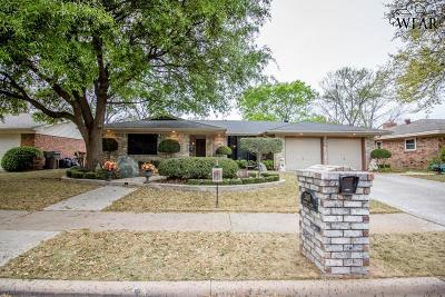 Wichita Falls Single Family Home For Sale: 2608 Elmwood Avenue