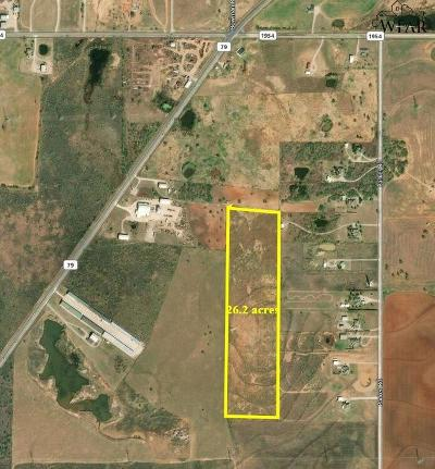 Wichita Falls Residential Lots & Land For Sale: Tract 10 S Hwy 79