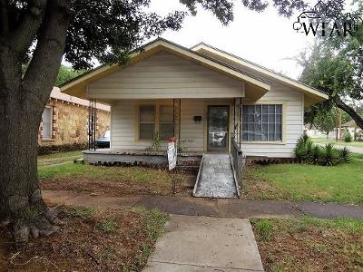 Single Family Home For Sale: 1900 Fillmore Street