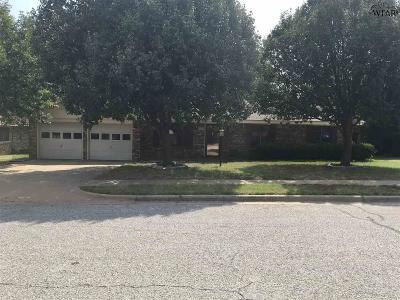 Wichita Falls TX Single Family Home For Sale: $104,900