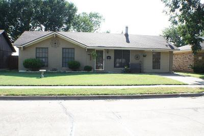 Wichita Falls Single Family Home For Sale: 5008 Rockpoint Street