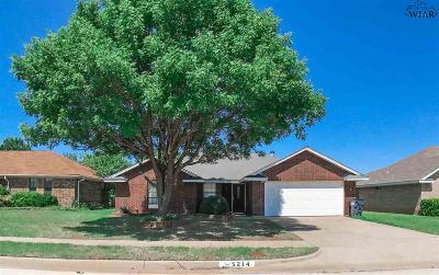 Wichita Falls TX Single Family Home Active W/Option Contract: $124,000