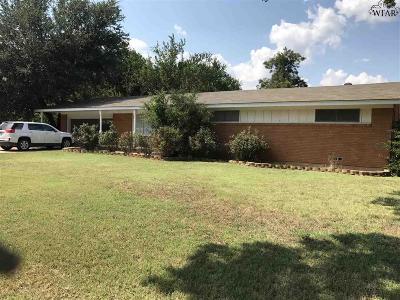Wichita Falls TX Single Family Home For Sale: $132,000