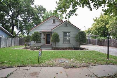 Burkburnett Single Family Home Active W/Option Contract: 315 Ellis Street