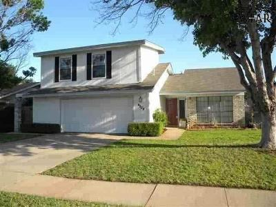 Wichita Falls Single Family Home For Sale: 4909 Big Bend Drive
