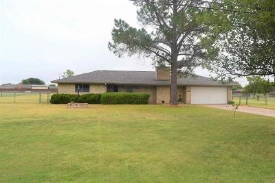 Wichita County Single Family Home Active W/Option Contract: 1407 Chaparral