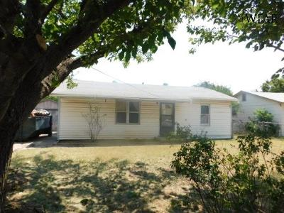 Wichita Falls TX Single Family Home Sold: $24,999