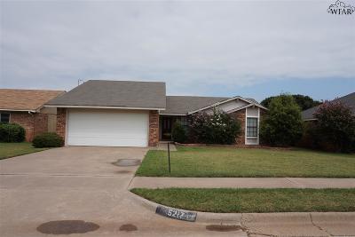 Wichita Falls TX Single Family Home For Sale: $114,900