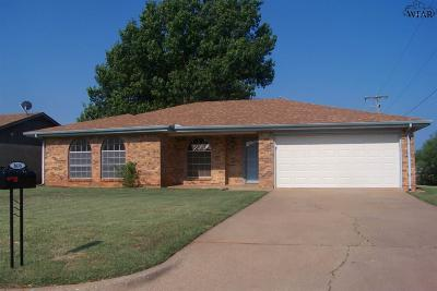 Single Family Home For Sale: 1616 Karen Lane
