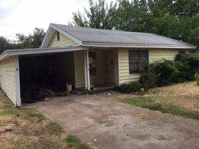 Wichita Falls Single Family Home For Sale: 2921 McGaha Avenue