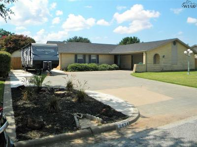 Burkburnett Single Family Home For Sale: 1434 Sioux Lane