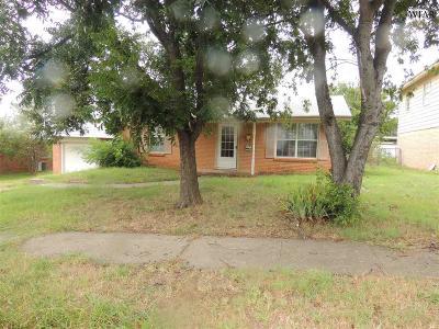 Wichita Falls Single Family Home For Sale: 4722 Gay Street
