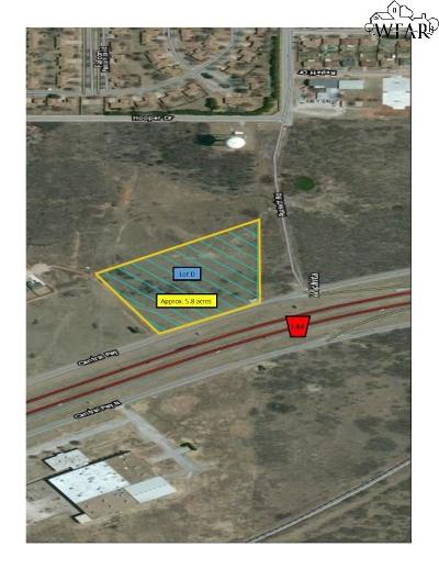 Wichita Falls Residential Lots & Land For Sale: Central Freeway