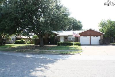 Wichita Falls Single Family Home For Sale: 4002 Kevin Drive