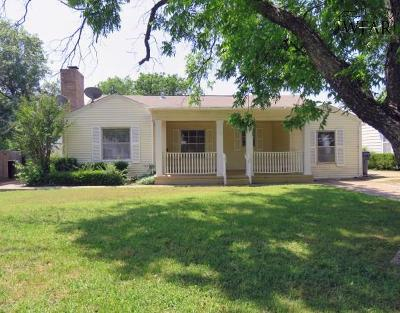 Wichita Falls Single Family Home For Sale: 2225 Piedmont Place