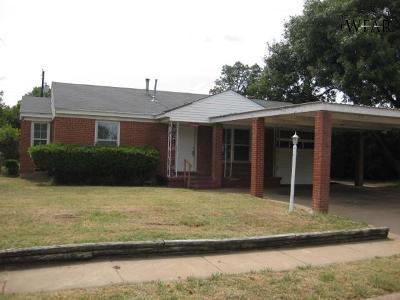 Wichita Falls Single Family Home For Sale: 4316 Boren Avenue