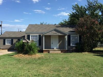 Wichita Falls Single Family Home For Sale: 3208 Southwest Drive