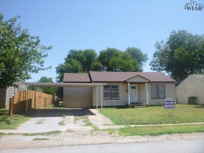Wichita Falls Single Family Home For Sale: 4325 Featherston Avenue