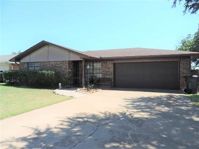 Wichita Falls Single Family Home Active W/Option Contract: 1517 Aldrich Avenue