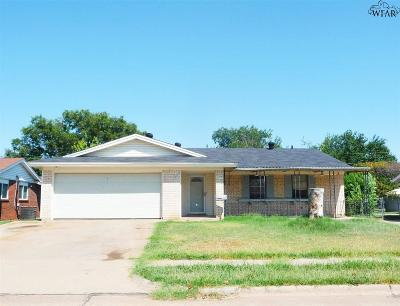Wichita Falls Single Family Home For Sale: 5105 Rockpoint Street