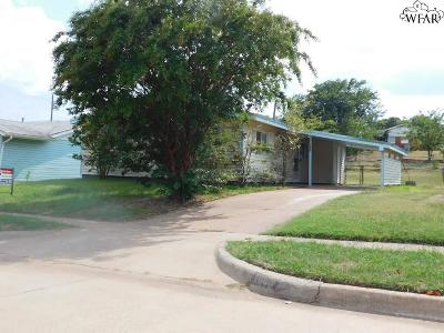 Wichita Falls Single Family Home For Sale: 1606 Sumner Terrace