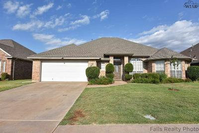 Wichita Falls Single Family Home For Sale: 4908 Legacy Drive