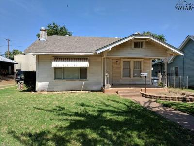 Wichita Falls TX Single Family Home For Sale: $39,900