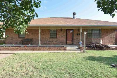 Wichita Falls Single Family Home For Sale: 1512 Christine Road