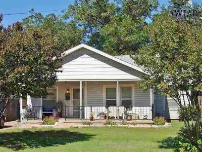 Wichita Falls TX Single Family Home For Sale: $49,500