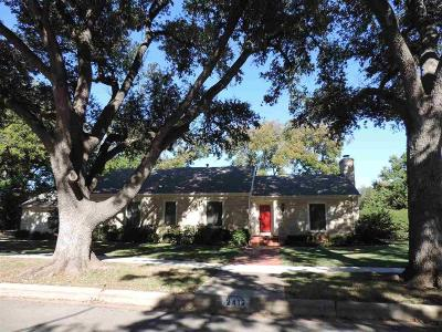 Wichita Falls Single Family Home Active W/Option Contract: 2412 Berkeley Drive