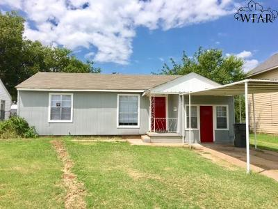 Wichita Falls Single Family Home For Sale: 2808 Wenonah Boulevard
