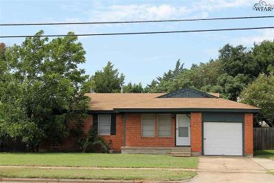 Wichita Falls Single Family Home For Sale: 4638 Fairway Boulevard