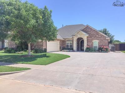 Wichita Falls Single Family Home For Sale: 2911 S Shepherds Glen
