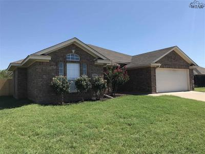 Wichita Falls Single Family Home For Sale: 3 Jessica Court