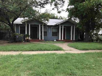 Wichita Falls TX Multi Family Home For Sale: $59,000