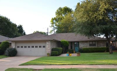 Wichita Falls TX Single Family Home For Sale: $132,500