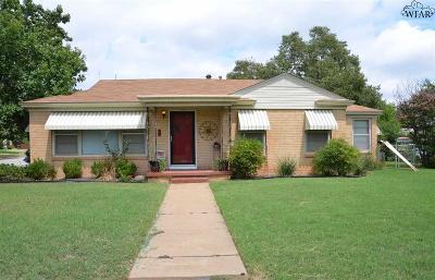 Wichita Falls Single Family Home For Sale: 3222 Miami Avenue