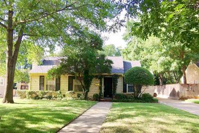 Wichita Falls Single Family Home For Sale: 2415 Clarinda Avenue