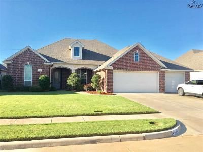 Wichita County Single Family Home For Sale: 5435 Sun Stone Drive
