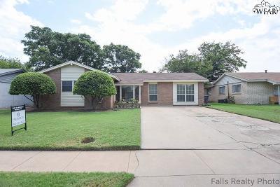 Wichita Falls Single Family Home For Sale: 4607 Harbor Road
