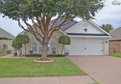 Wichita Falls Single Family Home For Sale: 3616 Alexandria Street