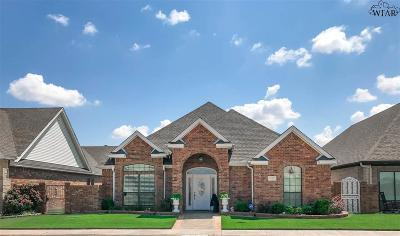 Burkburnett Single Family Home For Sale: 827 Coulter Drive