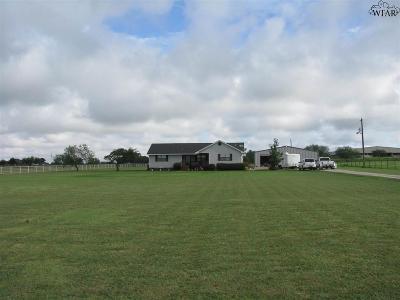 Wichita Falls Single Family Home Active W/Option Contract: 1706 Tammen Road