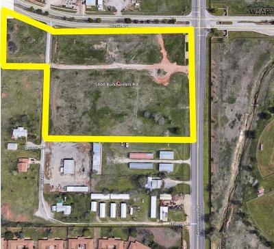Wichita Falls Residential Lots & Land For Sale: 5400 Burkburnett Road
