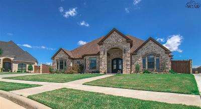 Wichita Falls Single Family Home For Sale: 5 Copper Kettle Court