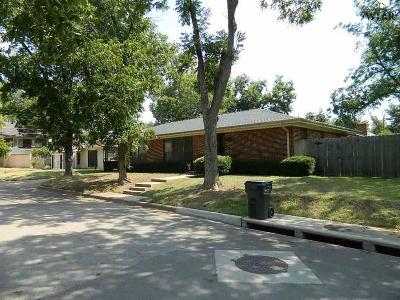 Wichita Falls Single Family Home Active W/Option Contract: 2609/2607 Cherokee Street